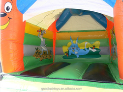 brincolines inflables baratos pvc inflatable dinosaur bounce house /inflatable bouncer