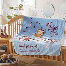 High quality printed flannel fleece baby blanket whole sales baby products