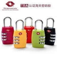 3-Digit Travel Lock Password Lock Security Padlock Travelling Bag's Coded Lock Safe Locker For Travel Outdoor Business