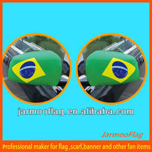2014 Brasil coche bandera del espejo