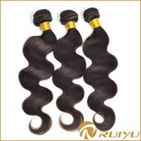 Wholesale cheap black virgin brazilian hair ,virgin brazilian body wave hair dropship