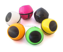 for promotion, round shaped,colorful,bass sound,portable speaker