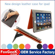 New design leather case for ipad mini case ,for ipad 2 3 4 case ,for ipad air/air2 case