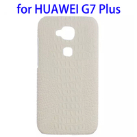 Factory directly Crocodile PU Leather Coated phone case for huawei g7 plus accessory