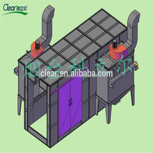 Powder Coating Coating and Steel Substrate electrostatic spray booth