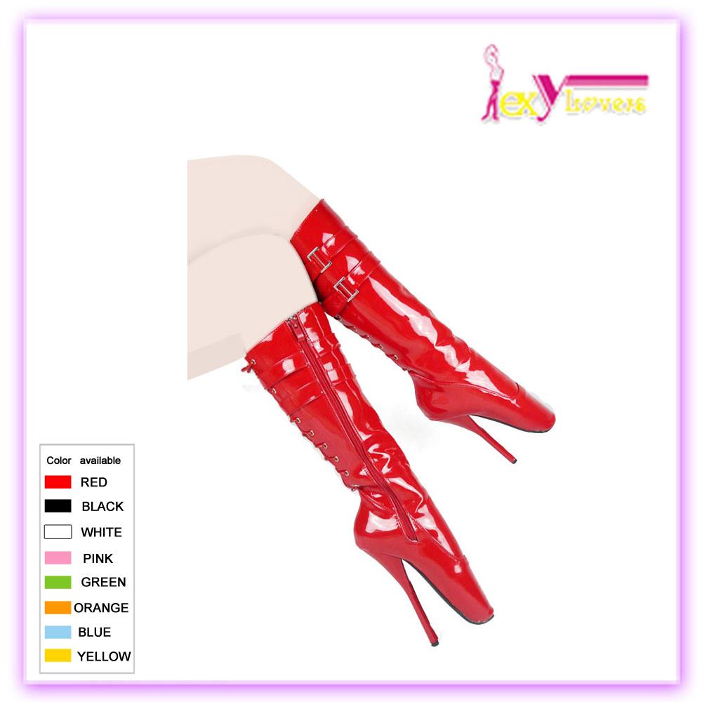 Chine grossistes Chaussures de ballet sexy d'alibaba avec chaussures de danse PASR cheville bottes ballet cheville