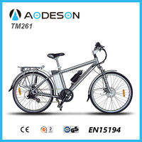 Hot sales mountain electric bike/bicycle, sport ebike, bicicleta electrica TM261 with 36V lithium battery and bafang motor