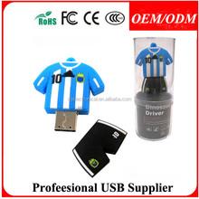 Custom shape , Free logo , 16gb black leather usb flash drive
