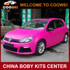 R20 Style Golf 6 (Front bumper ,Rear bumper,Side Skirts ) Bodykit For VW golf 6