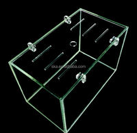 2016 top sale clear acrylic fish aquarium incubator and isolation boxes