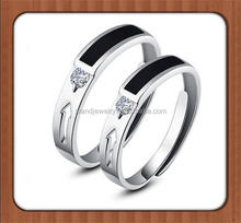 4MM High Polish Plain Dome Couple Love value 925 silver ring, Silver wedding Ring