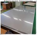 Aisi astm 304 2b superfície de aço inoxidável placa de metal/folha