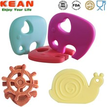 China Manufacturer BPA Free Food Grade Baby Teether