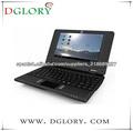 """DG-NB7002 7 """"ordenador portátil / netbook / notebook resolución WM8880 800 * 480 de la cámara 512MB/4GB litio Barrtery 1500mAh"""