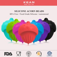 BPA free silicone vintage beads wholesale