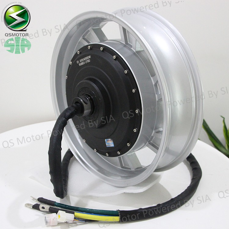 Qs motor 12kw 14kw 273 water cooled electric for Liquid cooled electric motor