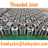Shandong professional company custom aluminum threaded pipe joint/pipe connector