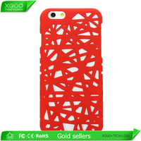 Wholesale in stock ChinFun bird nest case for iphone 6 ,for iphone 6 bird nest case