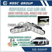 NSSSC 2015 High power auto Led DRL E-mark E4 R87 ligths led auto tuning daylight for sale