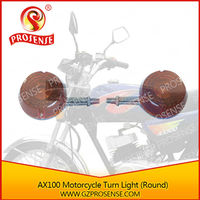 AX100 Motorcycle Winker Light (Round)