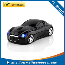 Colorfully wireless mouse fashion super sport car shaped 2.4Ghz optical mouse for pc laptop