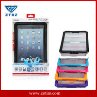 2014 Ipega factory new style waterproof diving case for ipad mini IP-68 qualified