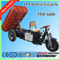 Hydraulic 3-wheel small truck/electric tricycle/3-wheel dumper tipper