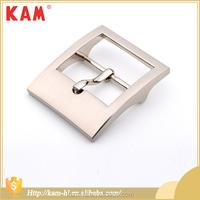 Factory direct sale silver color rectangle belt buckle blanks wholesale