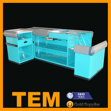 Multi Functional Durable Electric Convenience Store Checkout Counters