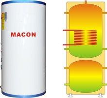 2014 nueva de agua caliente del tanque de almacenamiento, depósito de inercia( mt 150)