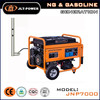 electric start open frame Natural gas Generator with spare