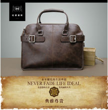 2015 Lastest and Hot Sale Fashion Genuine Leather leather Briefcase Office Bags For Men