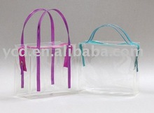 New Products Online Clear Cosmetic PVC Shopping Bag