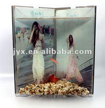 top acrylic(PMMA) fish tank aquarium