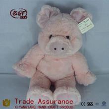 unstuffed plush animal skins plush toy pig