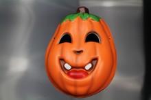 X-MERRY Cute cartoon Pumpkin soft EVA foam mask Feel Face Mask Halloween Party dressup