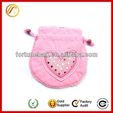 sweet jewelry pouch for promotion