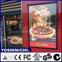aluminum light box poster frames with Japanese quality standard