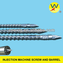Bimetallic screw barrel injection machine
