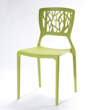 modern plastic chair outdoor dining room use