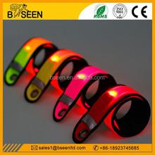 New products 2015 innovative product new flashing led bracelet manufacturer