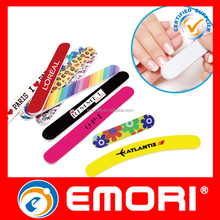 custom cheap price printed colorful popular portable abrasive Nail File