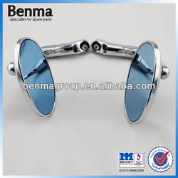 Super Quality Blue Glass Mirror Motorcycle ,Motorcycle Mirror Factory Wholesale !