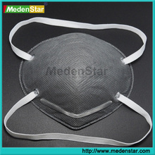 Face mask with N95 NIOSH&CE EN149:2001+A1:2009 approved MS007