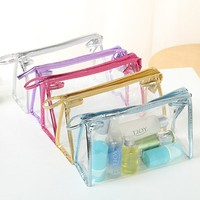 2015 best selling clear plastic cosmetic bag