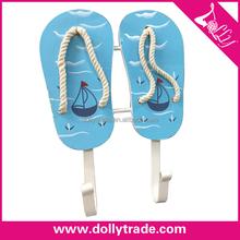 Decorative Wood Wall Hooks For Hanging,Cloth Hanger Hat Hook