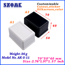 ABS plastic case with cut-out service