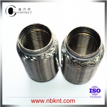 Long life exhaust tube in motor vehicle exhaust system
