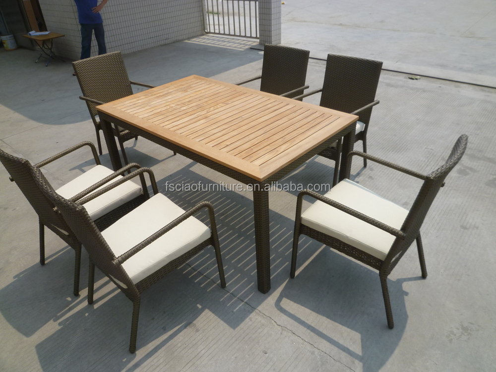 foshan furniture outdoor indoor used teaking wood dining table buy