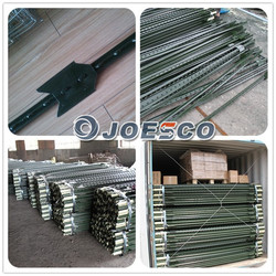 China factory hot sale metal fence t post